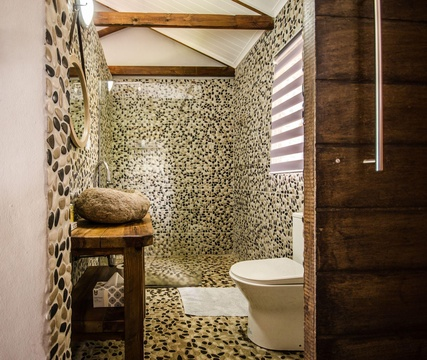 Perdeberg Cottage - Bathroom